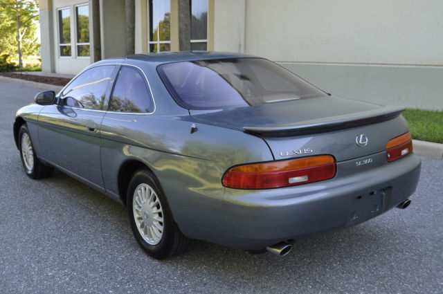 lexus sc coupe 1992 green for sale jt8jz31c4n0007995 1992. Black Bedroom Furniture Sets. Home Design Ideas