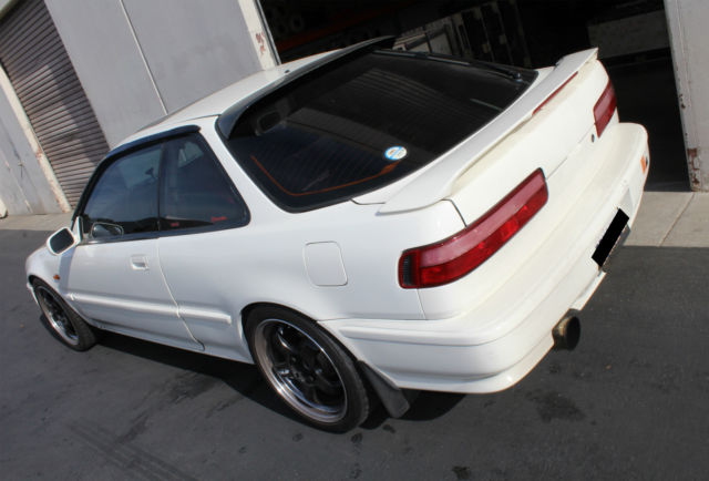 Acura Integra HATCHBACK 1992 Frost White For Sale JH4DB2382NS002576 ACURA INTEGRA GSR 17L B17A1 GS R DB2 Authentic B17 Vtec 17 Unicorn