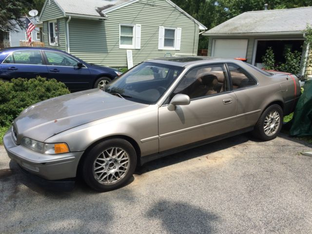 Acura Legend Coupe 1992 Gold For Sale JH4KA8170NC006546 LS 2 Door 32L RARE 5 SPEED MANUAL HTF VHTF NY