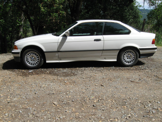 BMW Series Coupe White For Sale WBABFNEF BMW - 1992 bmw 325is