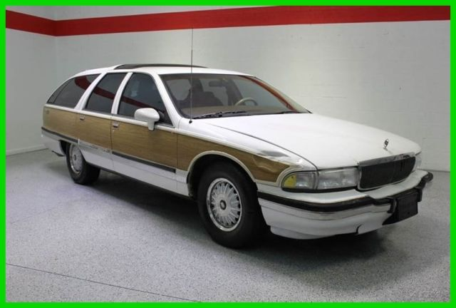 buick roadmaster wagon 1992 white for sale 1g4br8371nw406696 1992 buick roadmaster estate wagon. Black Bedroom Furniture Sets. Home Design Ideas