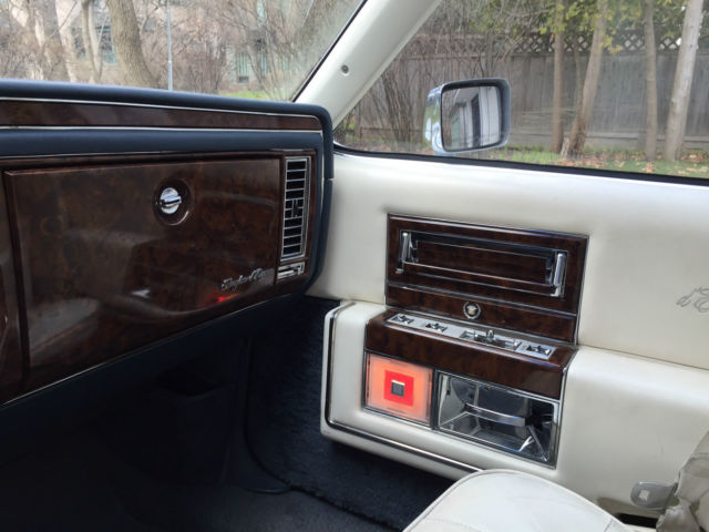 Cadillac Brougham Sedan 1992 White For Sale