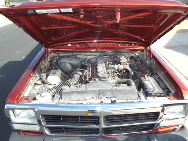 Dodge other standard cab pickup 1992 copper red metalic for Dodge 12 valve cummins motor for sale