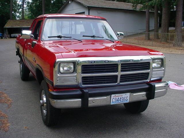 Dodge W Clubcab Cummins Diesel X on 1989 Dodge Ram Truck 4x4