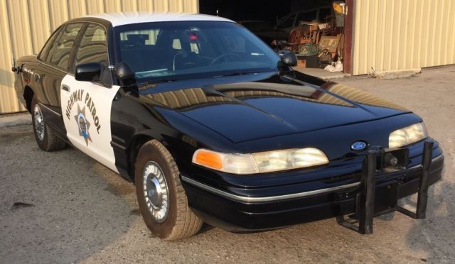 Ford Crown Victoria  For Sale Facpwnx  Ford Crown Victoria Chp Police Car