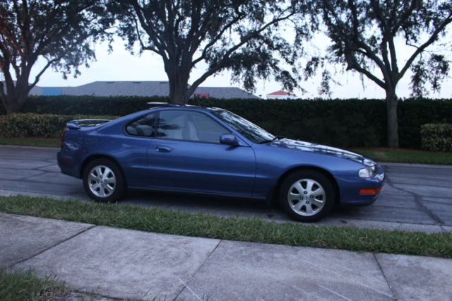 honda prelude coupe 1992 blue for sale jhmbb2159nc019739. Black Bedroom Furniture Sets. Home Design Ideas