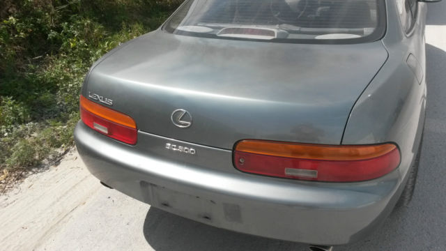 lexus sc coupe 1992 silver spruce metallic for sale. Black Bedroom Furniture Sets. Home Design Ideas