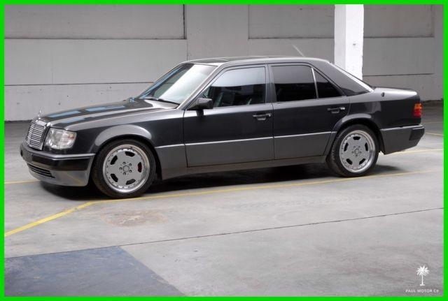 Mercedes Benz 500 Series Sedan 1992 Gray For Sale