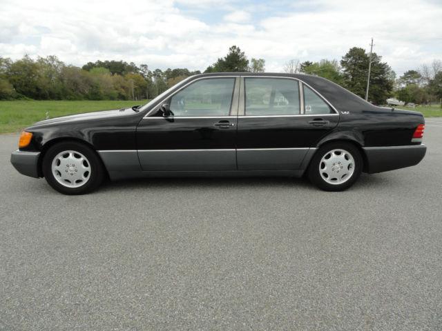 Mercedes Benz S Class Sedan 1992 Black For Sale