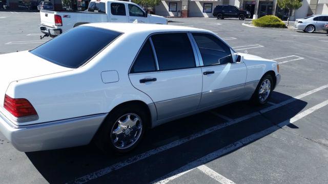 Mercedes benz 600 series sedan 1992 white for sale for 1992 mercedes benz 600 class