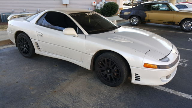 Mitsubishi 3000GT Coupe 1992 pearl white For Sale. JA3XE74C7NY020914