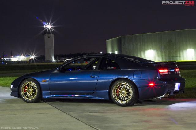 E85 Flex Fuel >> Nissan 300ZX Hatchback 1992 Blue For Sale ...