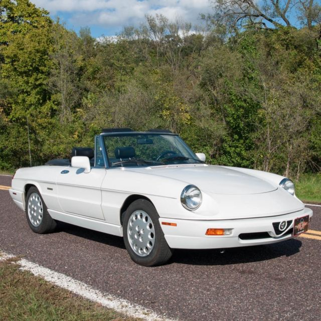 Alfa Romeo Spider Convertible 1993 White For Sale