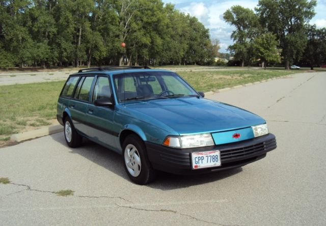 Chevrolet Cavalier Wagon 1993 Teal For Sale ...