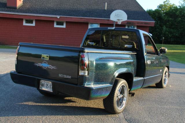 Chevy Silverado Wd Stepside Custom Show Truck on 1993 Chevy Silverado Blue