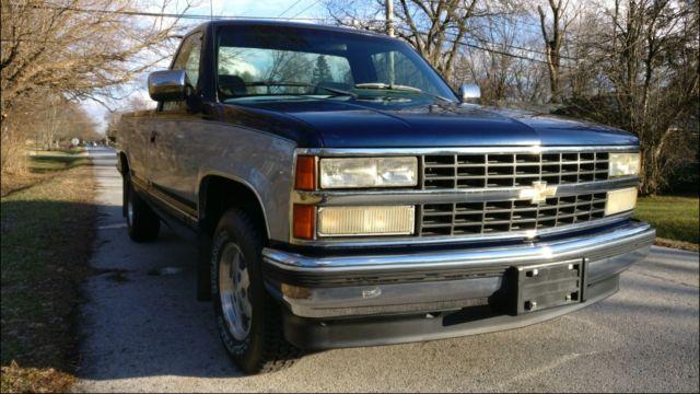 Chevy Silverado K Miles No Reserve on 1993 Chevy Silverado Blue
