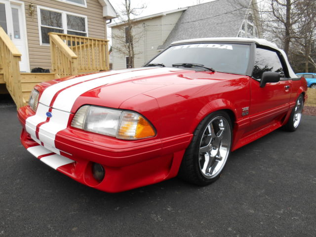 ford mustang convertible 1993 red for sale 1facp45e9pf150691 1993 ford mustang gt convertible. Black Bedroom Furniture Sets. Home Design Ideas