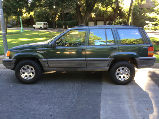 Jeep Grand Cherokee SUV 1993 Forest Green For Sale ...
