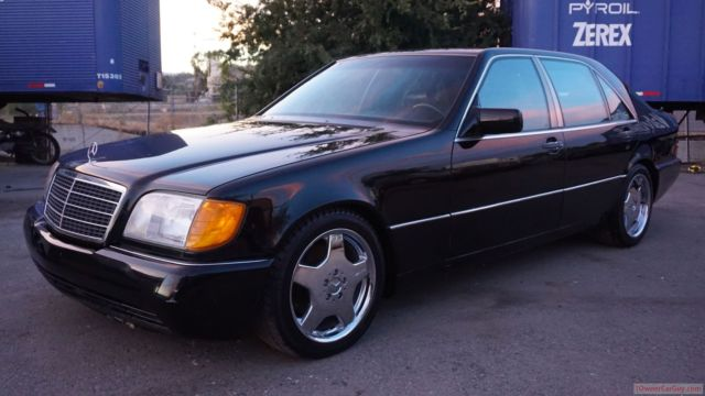 Mercedes benz s class sedan 1993 black for sale for Where do they make mercedes benz