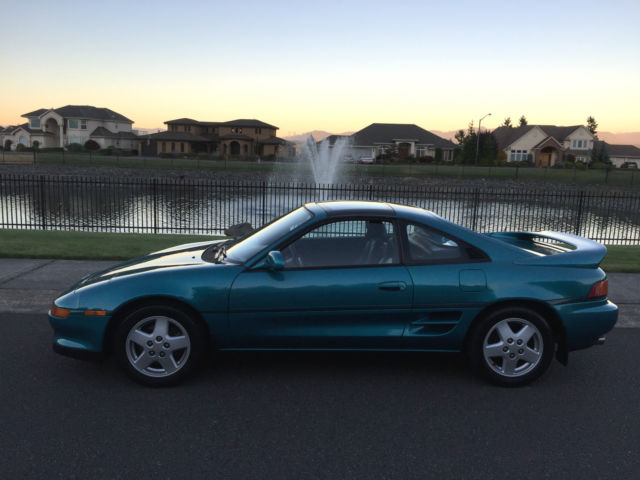 toyota mr2 coupe 1993 teal for sale jt2sw22n4p0075881 1993 toyota rh findclassicars com 1994 Toyota MR2 1993 toyota mr2 service manual