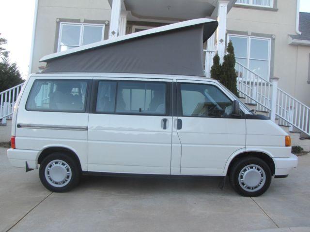 Volkswagen EuroVan Van Camper 1993 White For Sale
