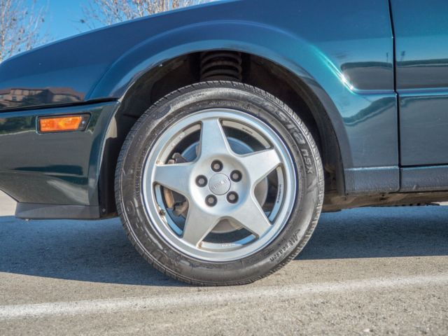 Volkswagen Corrado Coupe 1993 Green For Sale
