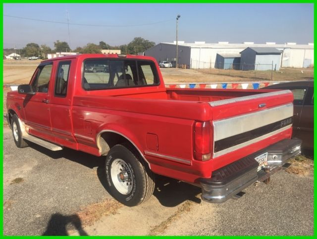 ford f 150 pickup truck 1993 red for sale 1ftex15n2pka67211 1993 xl rh findclassicars com 1993 f150 manual transmission fluid type 1993 f150 manual trans hard to get in gear