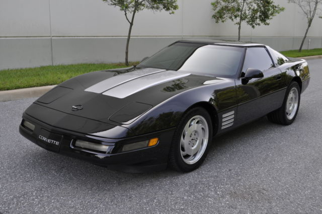Chevrolet Corvette Hatchback 1994 Black For Sale