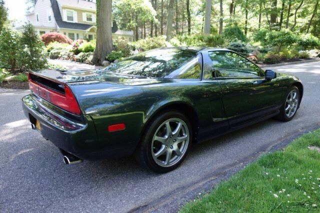 acura nsx coupe 1994 brooklands green pearl for sale jh4na1152rt000272 1994 acura nsx. Black Bedroom Furniture Sets. Home Design Ideas