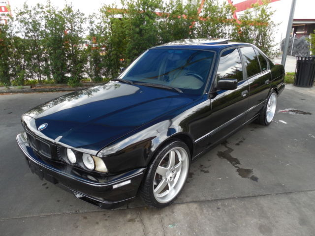 bmw 5 series sedan 1994 black for sale wbahe6325rgf27878. Black Bedroom Furniture Sets. Home Design Ideas