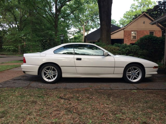 bmw 8 series coupe 1994 white for sale wbaef6328rcc89113 1994 bmw 840ci 8 series coupe with. Black Bedroom Furniture Sets. Home Design Ideas