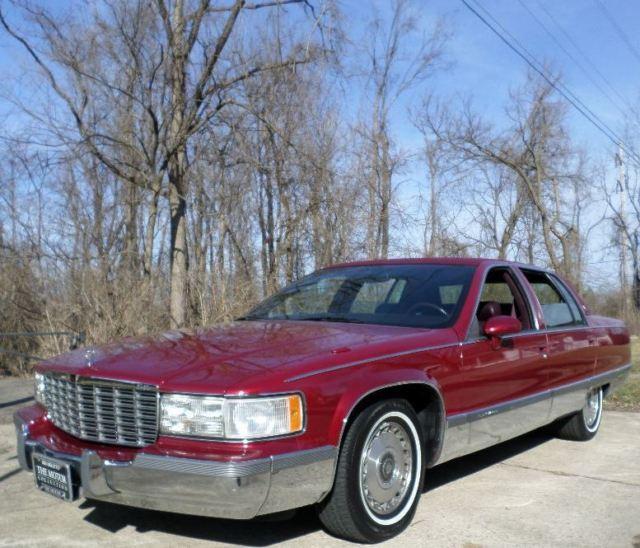 Cadillac Fleetwood Sedan 1994 Burgundy For Sale