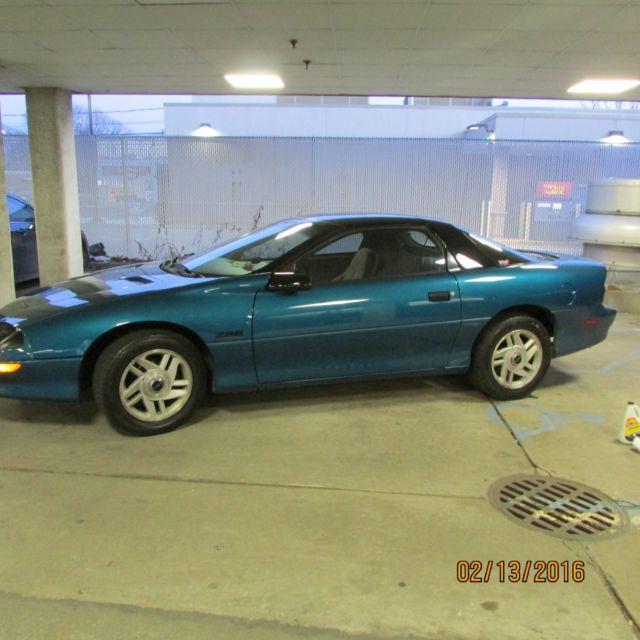Chevrolet Camaro Coupe 1994 SEAFOAM BLUE / GREEN For Sale