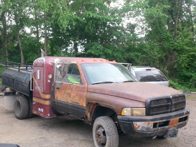 dodge ram 3500 crew cab pickup 1994 patina rusty finish for sale 1b6mc36c8rs731387 1994 dodge. Black Bedroom Furniture Sets. Home Design Ideas