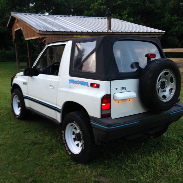 Geo Tracker X Automatic Ac Low Mileage Survivor