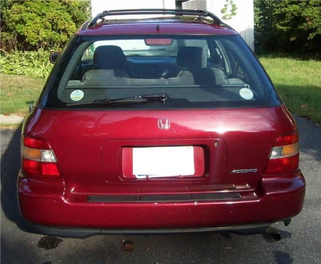 honda accord wagon 1992 gas mileage