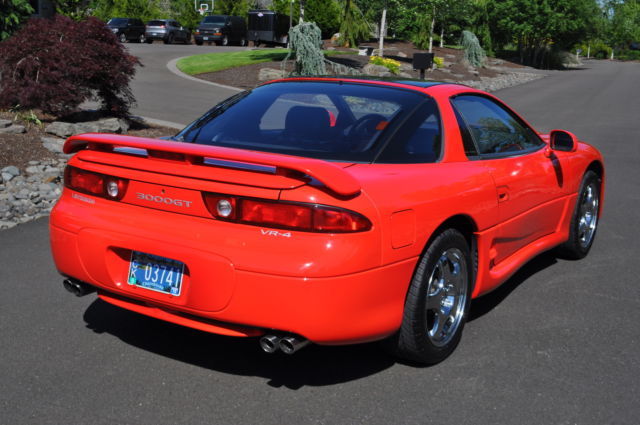 mitsubishi 3000gt coupe 1994 red for sale ja3an74k2ry009774 1994 mitsubishi 3000gt vr4 gto twin. Black Bedroom Furniture Sets. Home Design Ideas