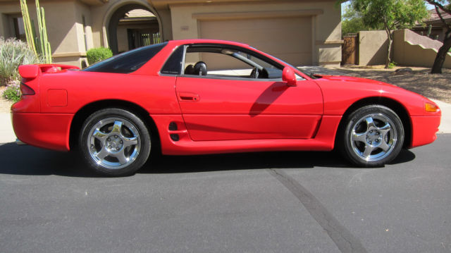 mitsubishi 3000gt coupe 1994 red for sale ja3an74k4ry031310 1994 mitsubishi 3000gt vr4 twin. Black Bedroom Furniture Sets. Home Design Ideas