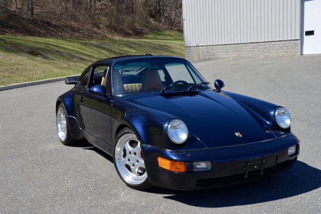 porsche 911 coupe 1994 blue for sale wp0ac2963rs480194 1994 porsche 911 3 6 turbo 964 in. Black Bedroom Furniture Sets. Home Design Ideas
