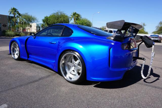 toyota supra coupe 1994 blue for sale jt2ja82j6r0015453