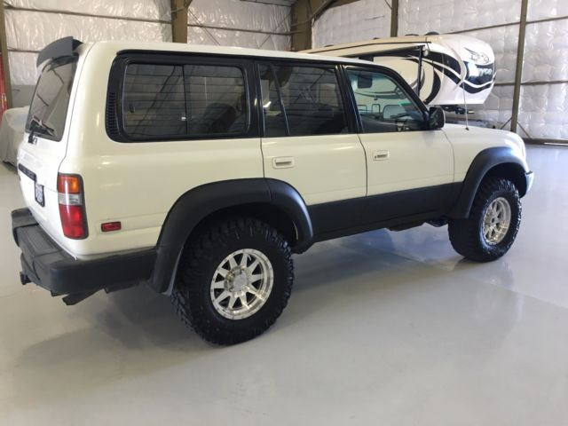 toyota land cruiser 1994 white for sale jt3dj81w1r0070396 1994 toyota landcruiser fj80 ome. Black Bedroom Furniture Sets. Home Design Ideas