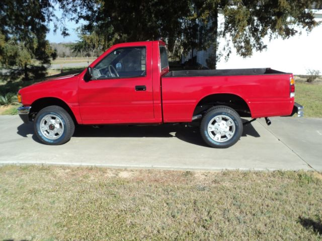 isuzu pickupr single cab standard bed 1995 red for sale. Black Bedroom Furniture Sets. Home Design Ideas