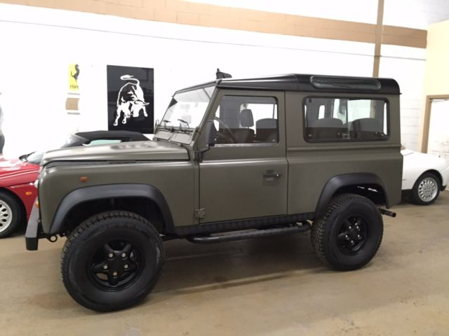 Land Rover Defender Suv 1906 Matt Green For Sale