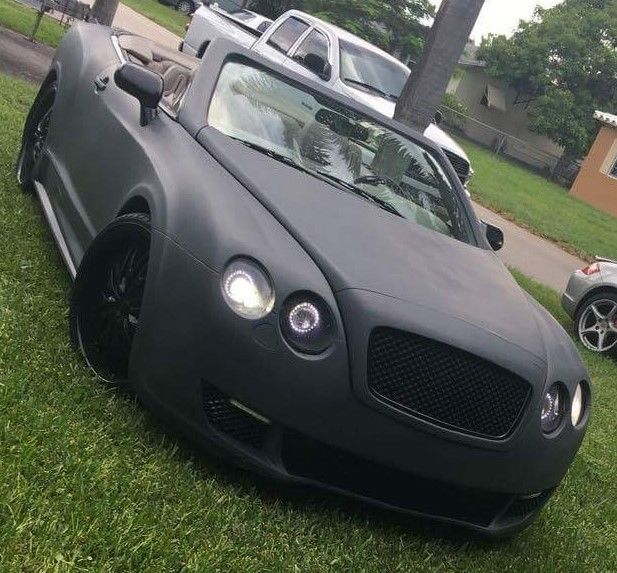 Used Bentley Convertible For Sale: Bentley Continental GT Convertible 1900 Gray For Sale