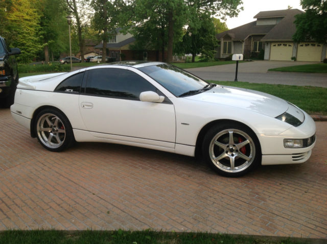 Nissan 300zx 2 Seat Coup Hatchback 1993 White For Sale