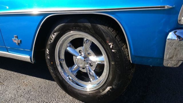 Chevrolet Nova Coupe 1966 Blue For Sale  115376w159340 327, 5 speed