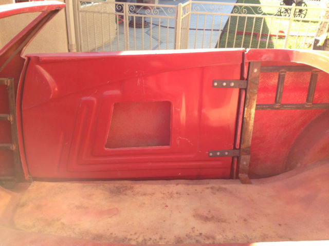 Ford Other Fiberglass 1937 Red Gelcoat For Sale Kit Car