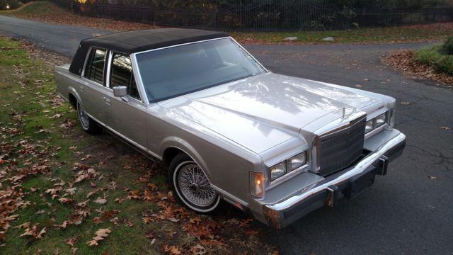 K Original Miles Lincoln Town Car Grand Marquis Continental Towncar Ltd