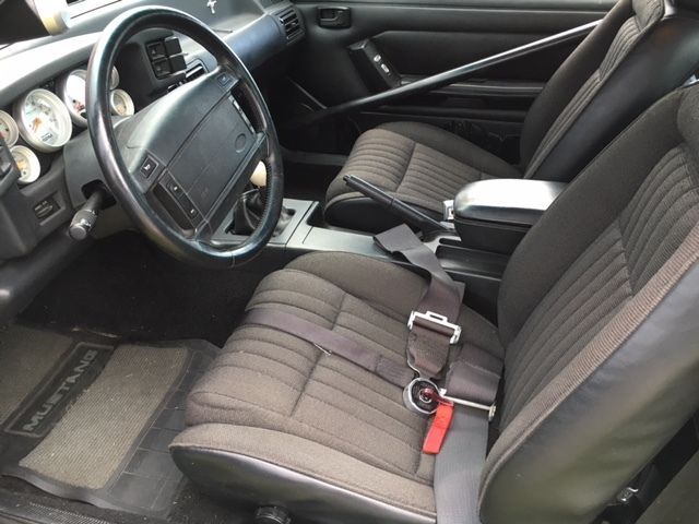 Ford Mustang 1993 STRAWBERRY For Sale. 1FACP41E8PF106347 ...
