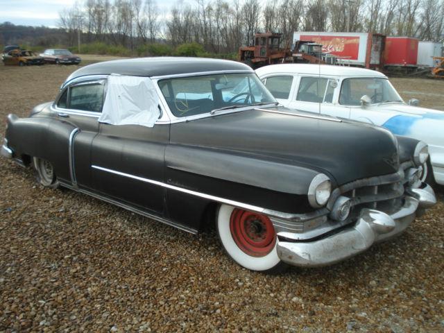 Cadillac DeVille Sedan 1952 black For Sale. 526290313 52 Cadillac 62